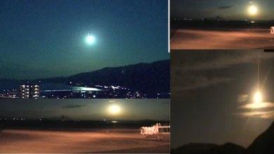 Photo of كرة نار في السماء تشغل شبكات التواصل الاجتماعي في اليابان – فيديو