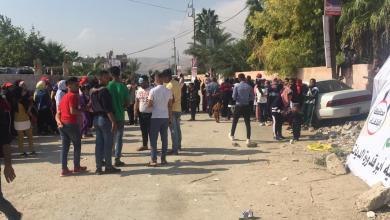 من امام أحد مراكز الاقتراع في دير علا - الغد