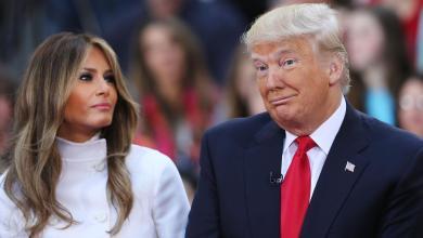 """Photo of ترامب وميلانيا بزي موحد في """"الصورة الأخيرة"""""""