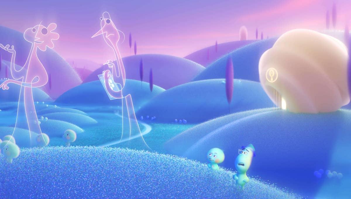 مشهد من فيلم سول