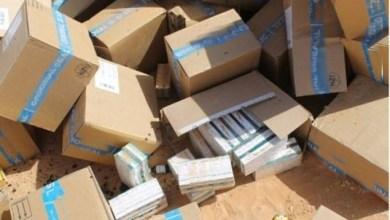Photo of العقبة: إحباط تهريب 1179 كرتونة أدوية
