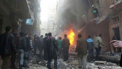 Photo of 9  قتلى في قصف بالطيران على حلب