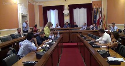 consiglio comunale Alghero