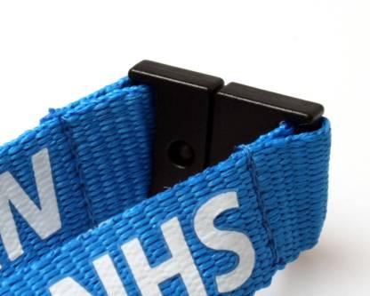 NHS Staff Lanyards with Triple Breakaway (100 Pack)