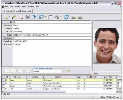 ImageBase Lite ID Card Design Software - Screenshot 4