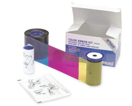 Datacard 534000-003 YMCKT Colour Ribbon (500 Prints)
