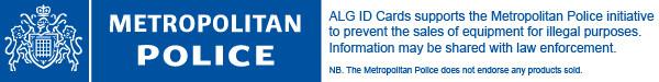 ALG ID Cards - Metropolitan Police