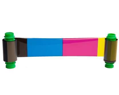 Javelin 61123501 YMCKO Colour Ribbon (200 Prints)