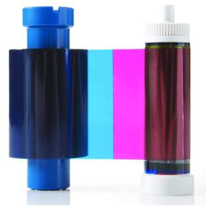 Magicard MA450YMCKO Half Panel Colour Ribbon