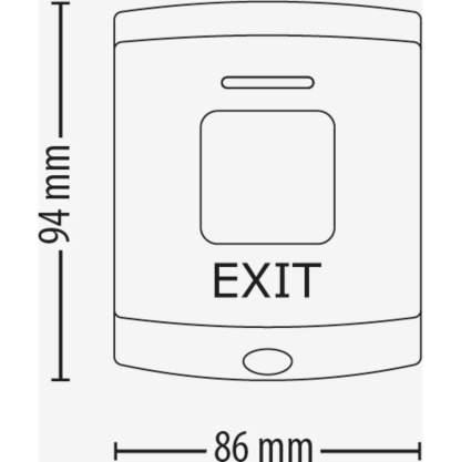 Paxton Exit Button - E75 (376-310)