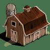 Weathered Barn Categoria: Storage Clase: Storage Coste: 27 Se vende por: 4,000 Tamaño: 8x6