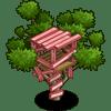 Pink Treehouse Categoria: Otra Coste: 20 Se vende por: 3,000 Tamaño: 1x1