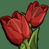 Red Tulips Categoria: Flowers Coste: 75 Tiempo crecimiento: 23 Horas Monedas que produce: 159 XP que produce: 2 Tamaño: 4x4