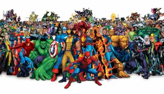 Superheroes Marvel