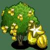 Starfruit Tree Regalo Monedas que produce: 65 Se vende por: 60