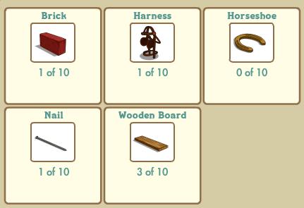 Horse Stable: Construccion