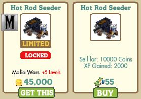 Hot Rod Seeder Farmville