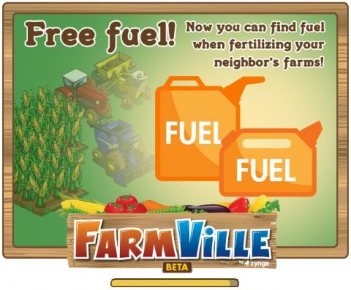 Free Fuel farmville