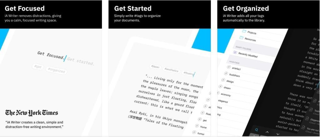 Procesador de textos para el iPad: iA Writer