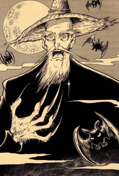 Tatsuya Morino dibuja a dracula