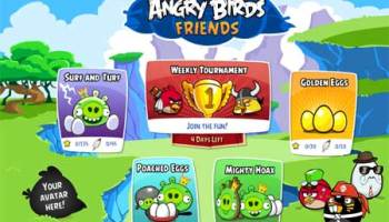 Angry Birds Friends en Facebook