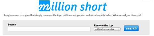 El buscador Million Short