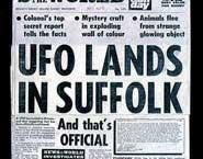 OVNI en Suffolk