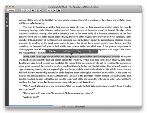 Copiar Texto en Kindle APP