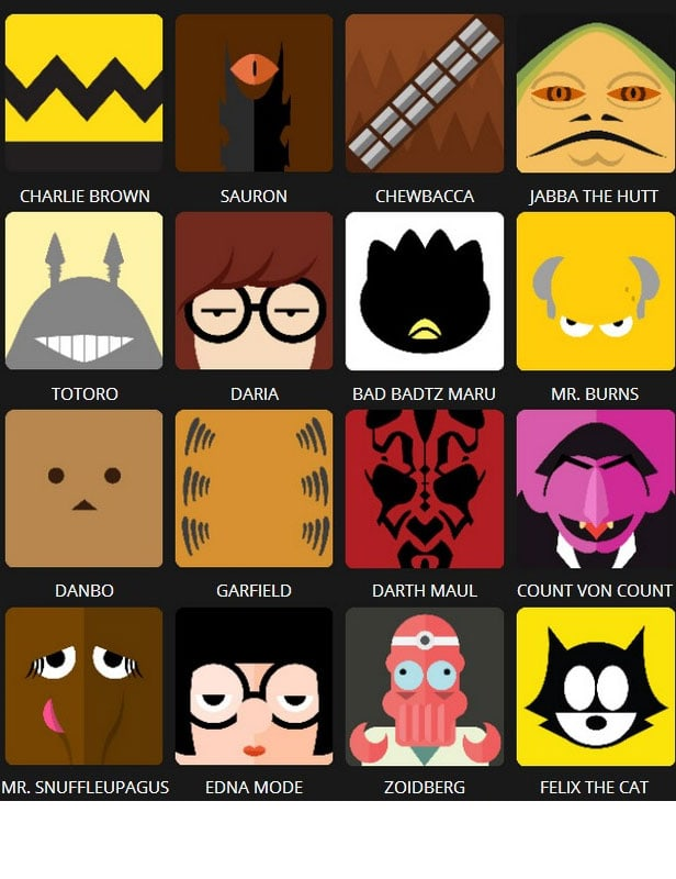 Icon Pop Quiz Answers Character Level 5
