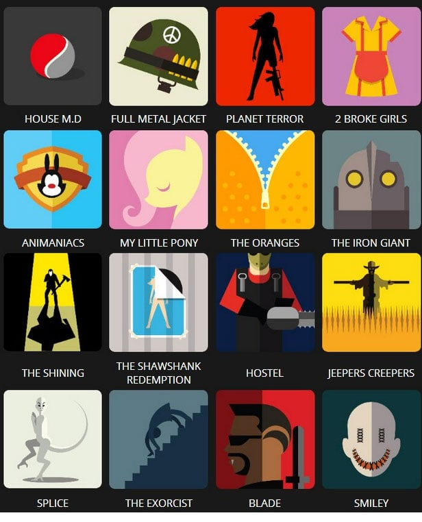 Icon Pop Quiz Answers Tv&Film Level 5