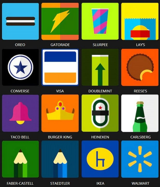 Icon Pop Brands Quiz Answers Level 3