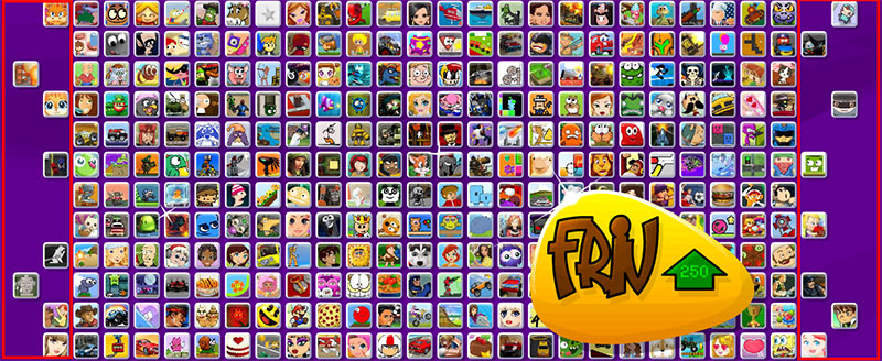 juegos ocultos de FRIV