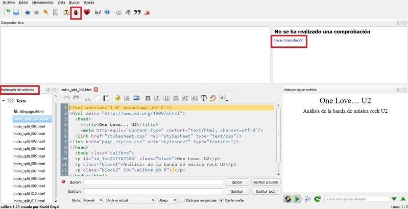 ¿Cómo podemos solucionar los errores de un archivo ePub?