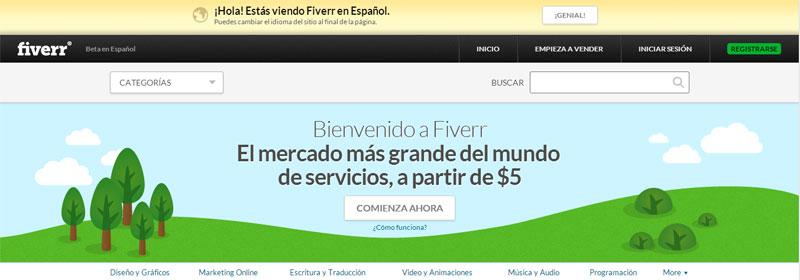 Fiverr en Español - Castellano