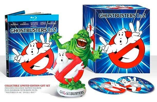 Ghostbusters y Ghostbusters II blue-ray