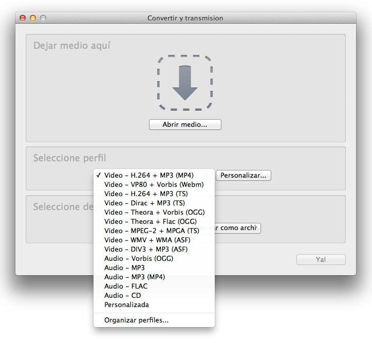 Cómo cambiar fácilmente de formato archivos de video y audio con VLC o Handbrake
