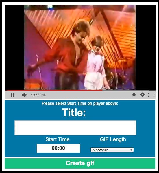 """Cómo transformar cualquier video de YouTube en un GIF añadiendo """"gif"""" a la URL"""