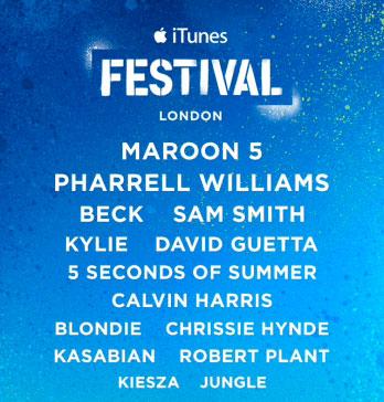 Disfruta gratis de iTunes Festival London 2014: conciertos online sin pagar un duro