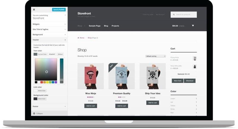 El tema perfecto para tu tienda online con WooCommerce: Storefront