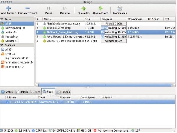 Deluge App Mac