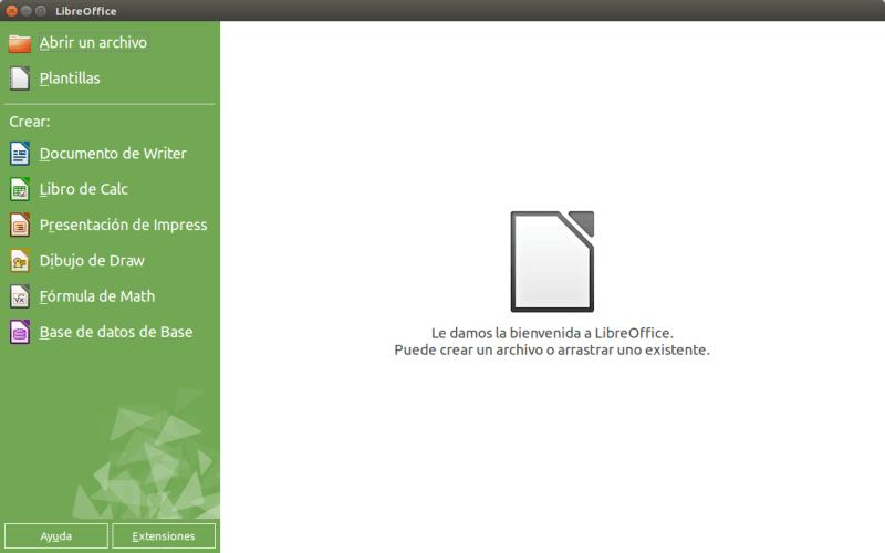LibreOffice linux