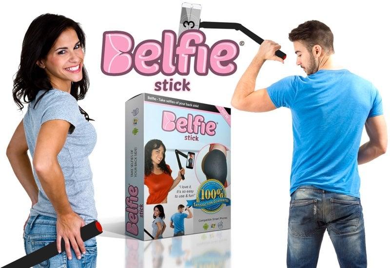 Hacerte fotos al trasero ya no es un problema con el BelfieStick