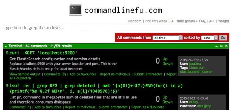 mejores comandos linux