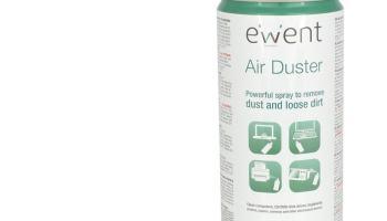 Ewent EM5601 - Spray de aire comprimido limpia polvo, color blanco