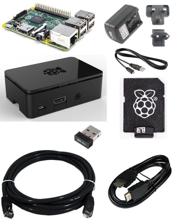 Kit de inicio fundamental para la nueva Raspberry Pi 2