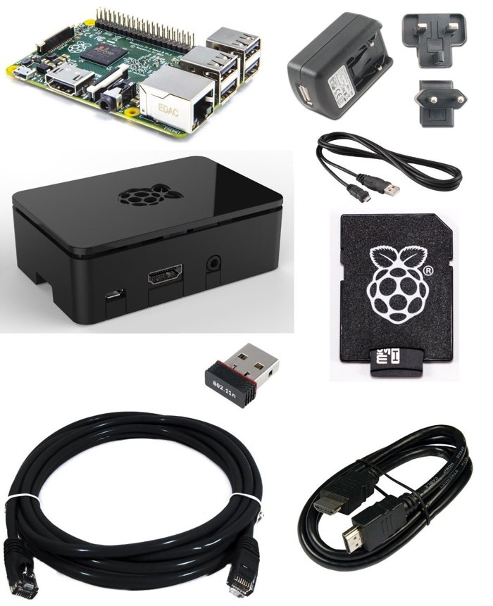 Raspberry Pi 2 kit inicio
