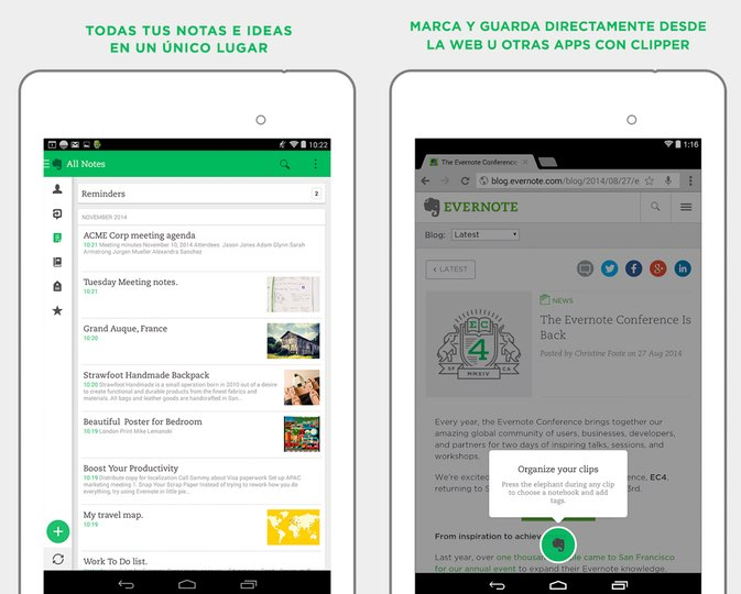 evernote app android