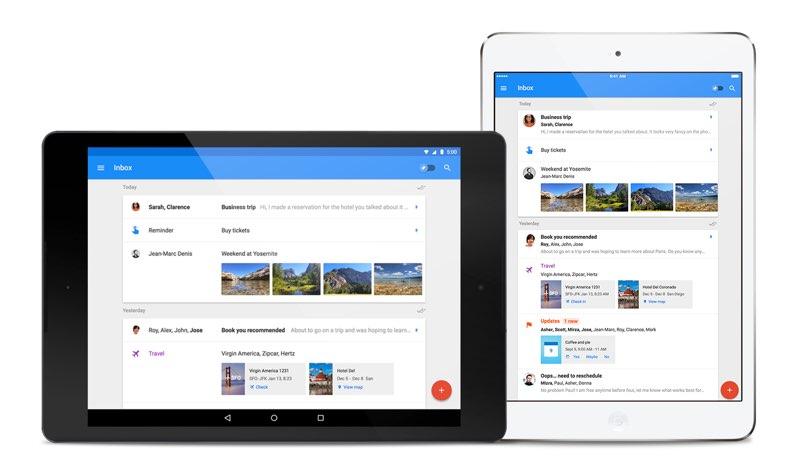 Organiza tu correo con Google Inbox