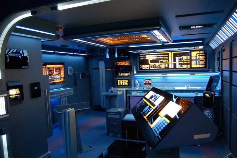 Un apartamento estilo Star Trek la venta por unos 100.000 euros