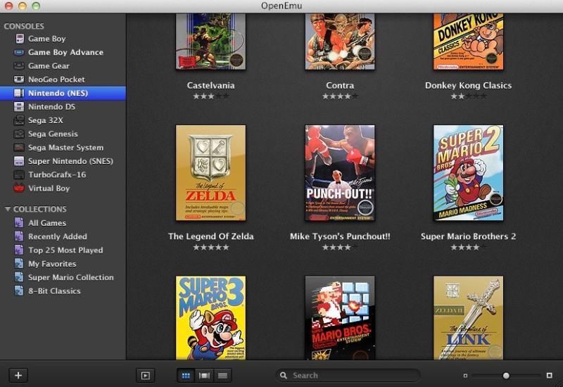 Emulador juegos consolas para Mac